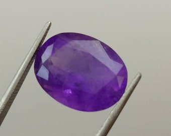 Amethyst,Faceted Amethyst,Jewelry wrapping Pretty Amethyst,5.5 ct measuring 13*10*7 mm Loose Amethyst,Natural Purple Gem