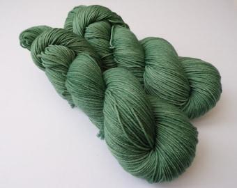 100g Forest, 4PLY Fingering, hand dyed shawl sock yarn, fingering weight, merino, nylon