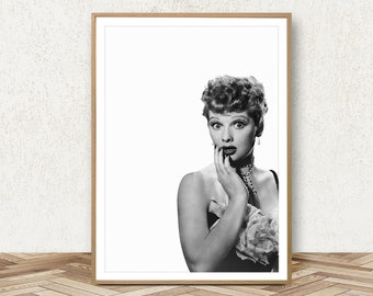I Love Lucy Poster Lucille Ball Print Retro Movie Poster Bathroom Poster I Love Lucy Print Retro Movie Art TV Show Poster Movie Printable  sc 1 st  Etsy & I love lucy | Etsy