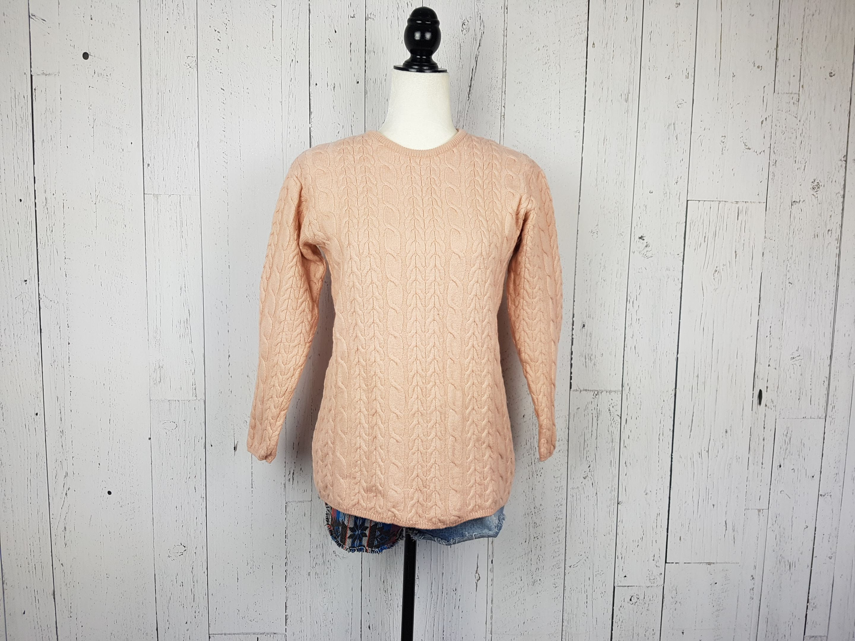 ⭐Women/'s Loose Knitted Pullover Jumper Sweater V Neck Long Sleeve Knitwear Tops