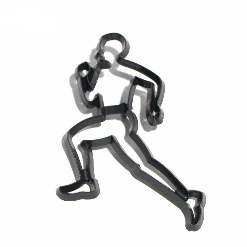 6PCSSET Running Theme Cookie Cutter Plastic