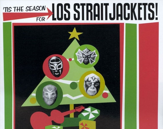 "Los Straitjackets ""'Tis the Season for Los Straitjackets!"" LP"