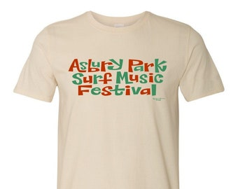 Asbury Park Surf Music Festival 2017 T