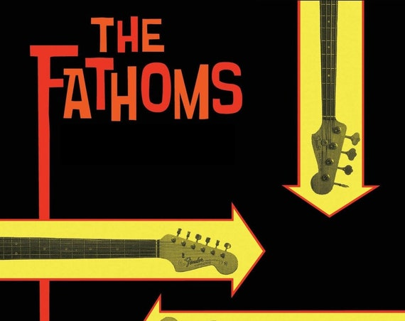 "The Fathoms ""Fathomless"" CD (2017 Reissue)"