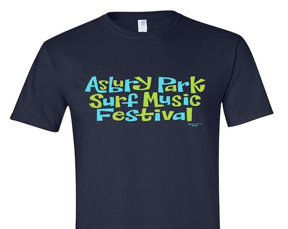 Asbury Park Surf Music Festival 2018 T-Shirt