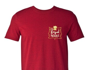 "The Royal Pacifics ""Tiki Crest"" T-Shirt"