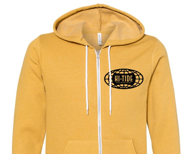 "Hi-Tide Recordings ""Go Global!"" Zip-Up Sweatshirt"
