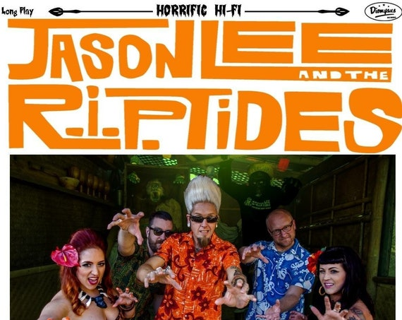 "NEW! Jason Lee and The R.I.P.Tides ""Monsters & Mai Tais"" LP"