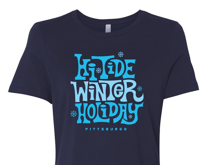 Hi-Tide Winter Holiday: Pittsburgh Women's Relaxed T