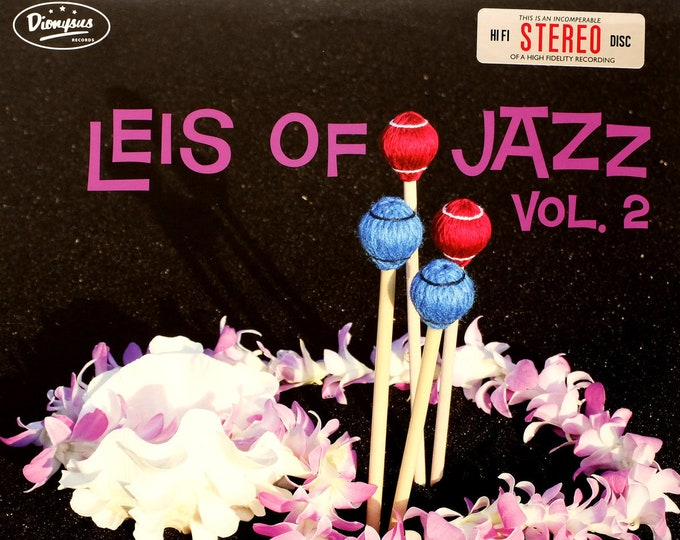 "The Alika Lyman Group ""Leis of Jazz, Vol. 2"" LP"