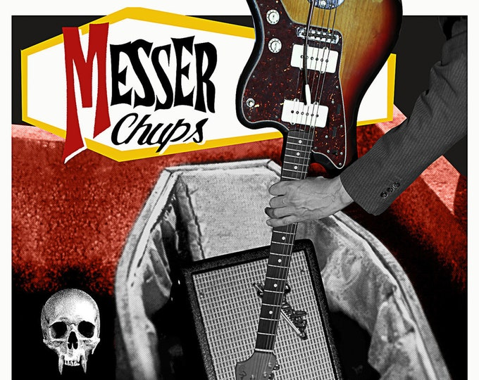 "Messer Chups ""Taste The Blood of Guitaracula"" CD"