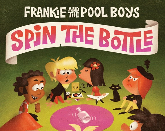 "Frankie and The Pool Boys ""Spin the Bottle"" CD"