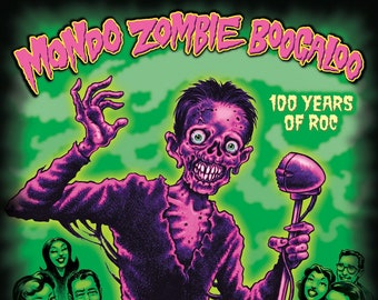 "Los Straitjackets, The Fleshtones & Southern Culture on the Skids ""Mondo Zombie Boogaloo"" 2xLP w/ CD (Translucent Orange)"