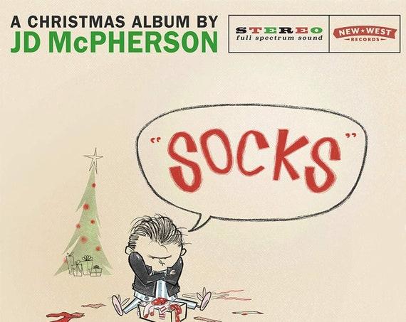 "JD McPherson ""Socks"" LP (Indie-only ""Snowglobe"" Colored Vinyl)"