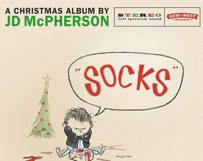 "JD McPherson ""Socks"" LP (Indie-only ""Snowglobe"" Colored Vinyl)"