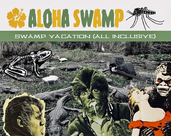 "Aloha Swamp ""Swamp Vacation (All Inclusive)"" CD"