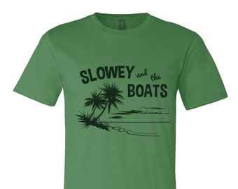 """Slowey and The Boats """"Palm Green"""" T"""