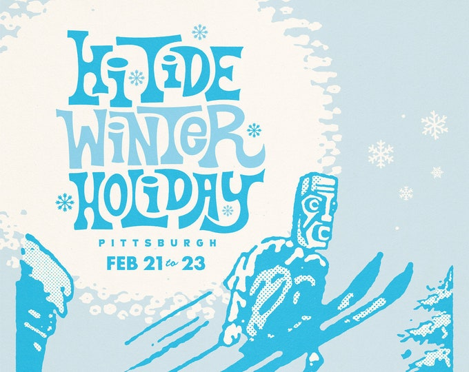 Hi-Tide Winter Holiday: Pittsburgh 2020 Poster