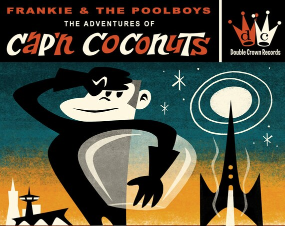 "Frankie & The Pool Boys ""The Adventures of Cap'n Coconuts"" CD"