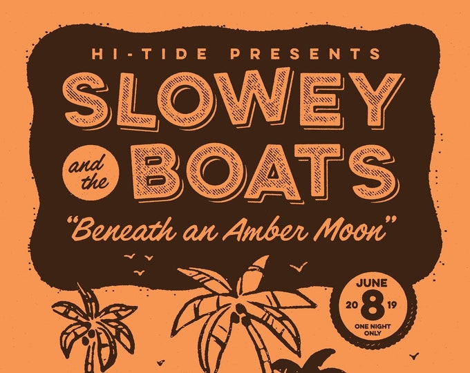 Slowey and The Boats Commemorative Mai-Kai Print