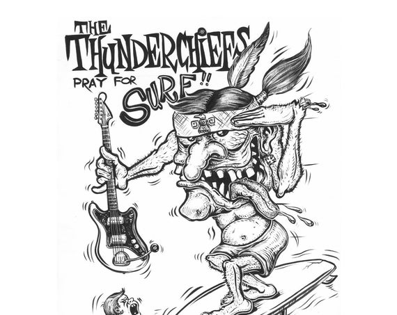 "The Thunderchiefs ""Crystal Beach / Creature From the Surfer's Lagoon"" 45"