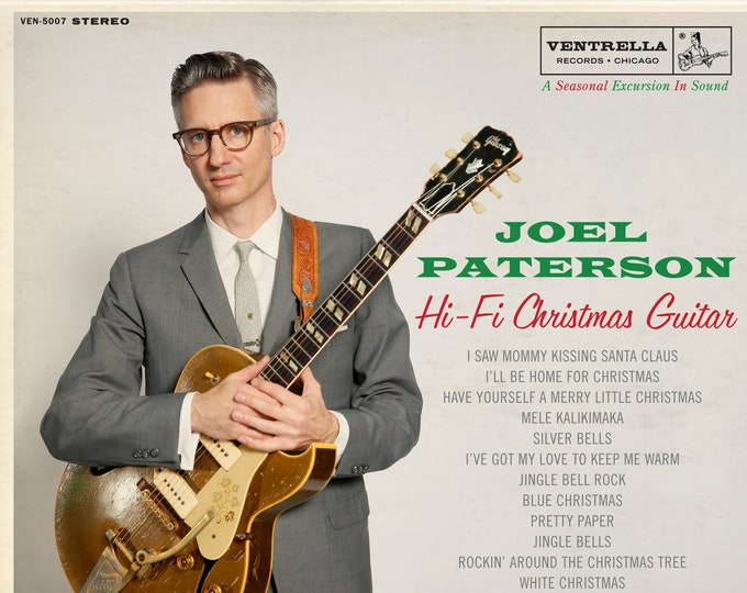 "Joel Paterson ""Hi-Fi Christmas Guitar"" LP"