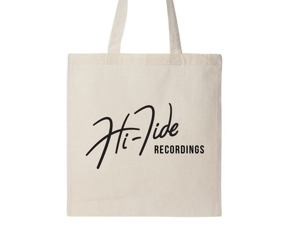 Hi-Tide Recordings Logo Record Tote