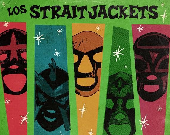 "Los Straitjackets ""Complete Christmas Songbook"" 2xLP"