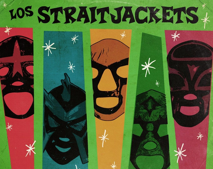 "Los Straitjackets ""Complete Christmas Songbook"" 2xLP"