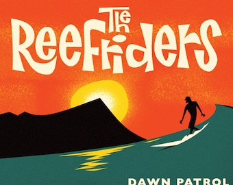 "The Reefriders ""Dawn Patrol"" CD"