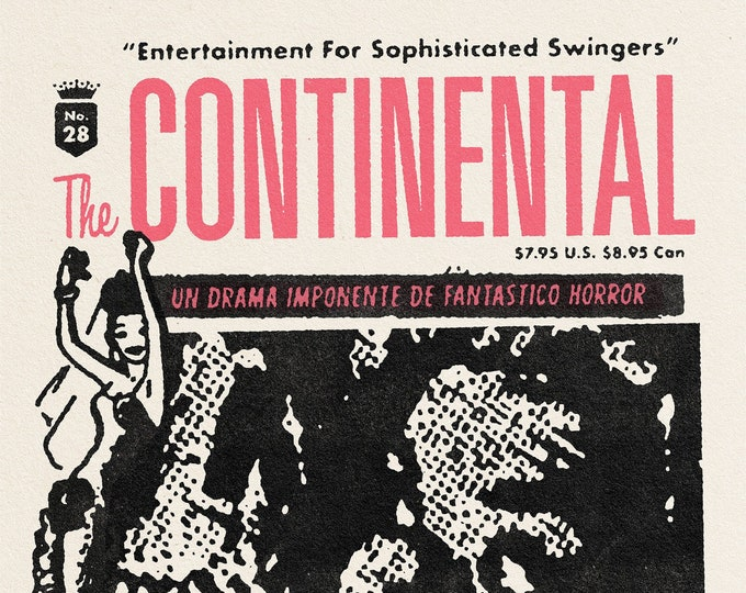 The Continental #28 ft. Los Frenéticos w/ CD