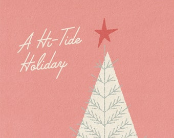 A Hi-Tide Holiday Handwritten Gift Message