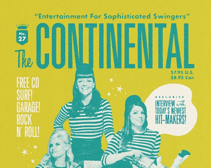 The Continental #27 ft. The Surfrajettes w/ CD