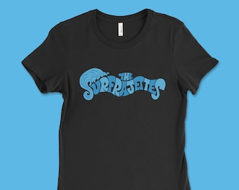 "The Surfrajettes ""Wave Logo"" Women's T"