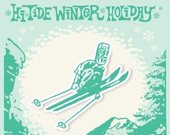 Hi-Tide Winter Holiday 2021 VIP Enamel Pin