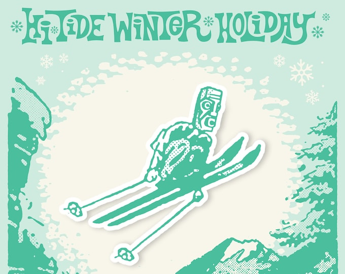 Hi-Tide Winter Holiday 2021 VIP Enamel Pin