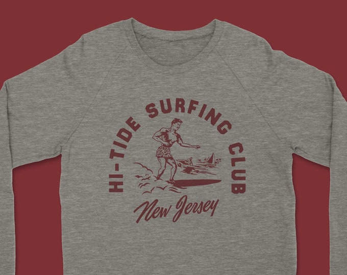 Hi-Tide Surfing Club Crewneck Sweatshirt