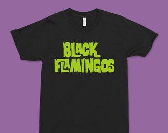 "Black Flamingos ""Are You Afraid of the Dark?"" Logo T"