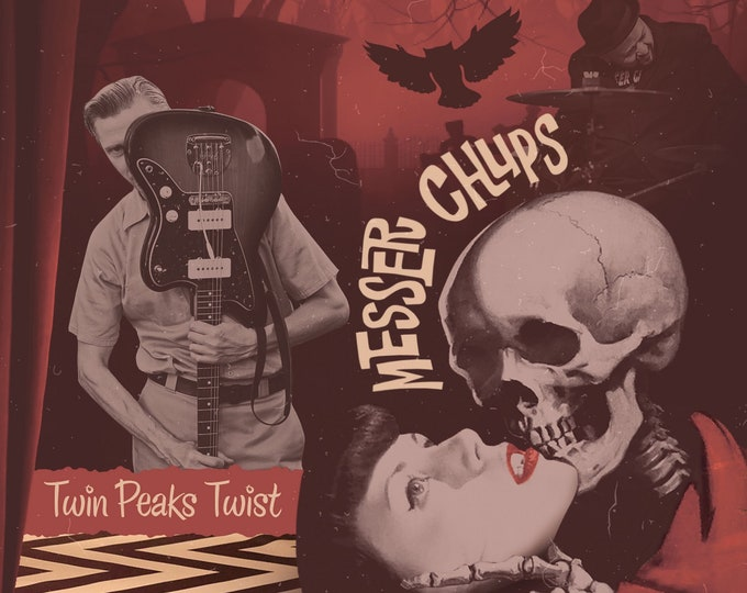 "Messer Chups ""Twin Peaks Twist"" EP 7"""