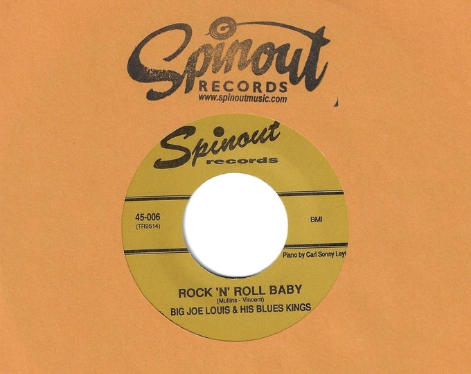 "Big Joe Louis & His Blues Kings ""Rock 'n' Roll Baby b/w 3-6-9"" Single"