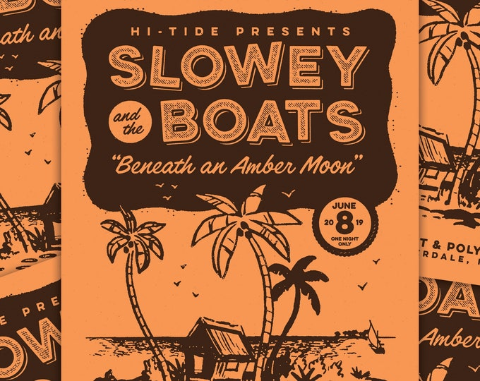 Slowey and The Boats Commemorative Mai-Kai Print