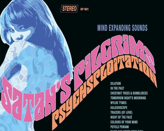 "Satan's Pilgrims ""Psychsploitation"" LP"