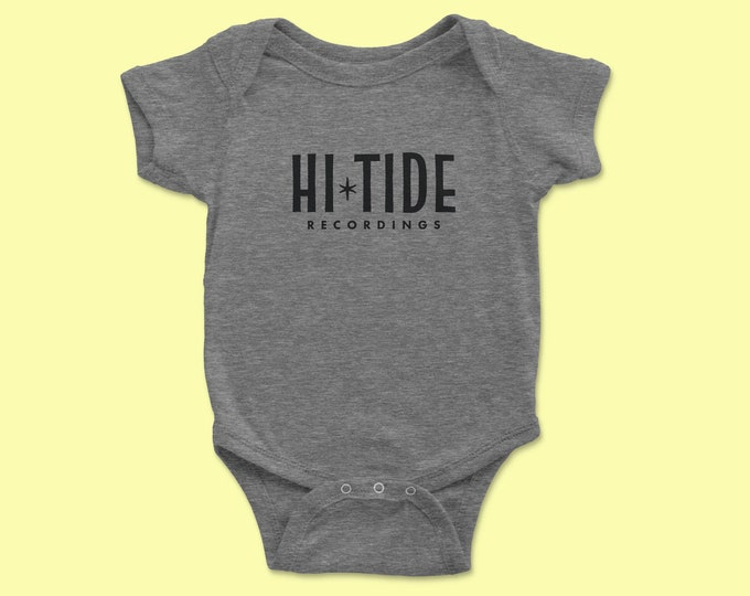 Hi-Tide Recordings Baby Jersey One Piece