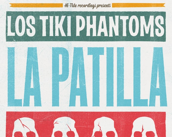 "NEW! Los Tiki Phantoms ""La Patilla"" Single (Digital Download)"
