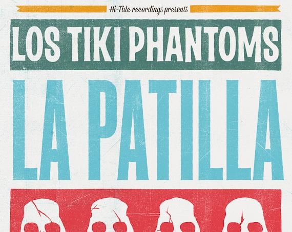 "Los Tiki Phantoms ""La Patilla"" Single (Digital Download)"