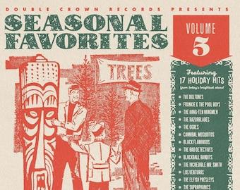 "Double Crown Records ""Seasonal Favorites Volume 5"" CD"