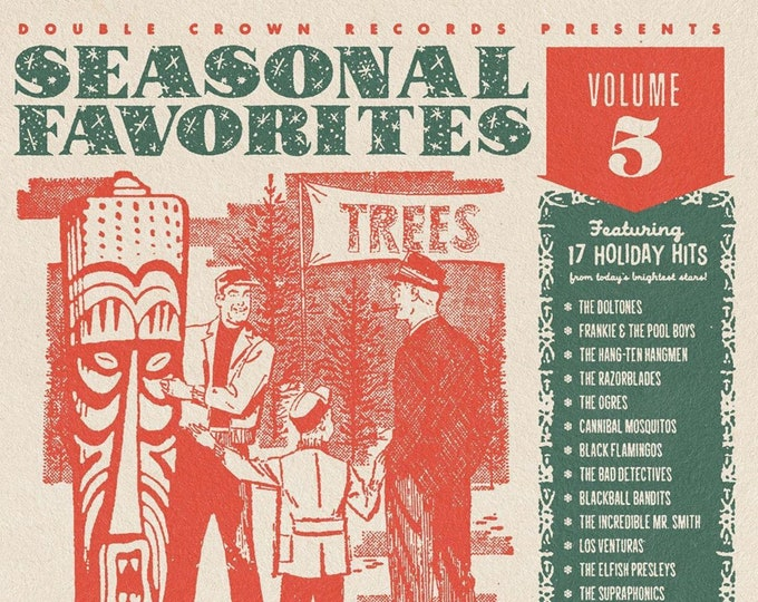 "Double Crown Records ""Seasonal Favorites Volume 5"" CD"