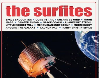 "The Surfites ""Escapades in Space"" LP"