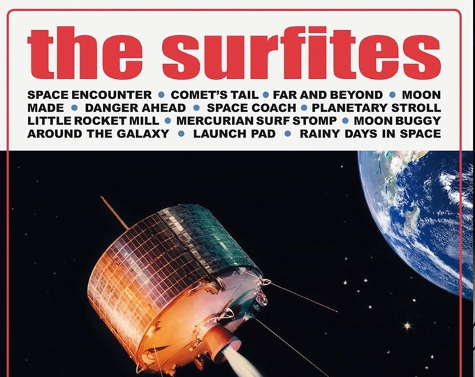 "The Surfites ""Escapades in Space"" LP"