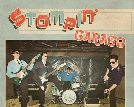 "The Volcanics ""Stompin' Garage"" CD"